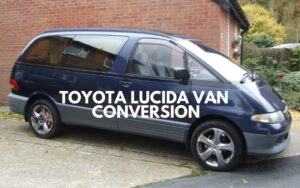 Toyota Lucida van conversion