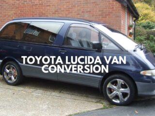 Toyota Lucida van conversion