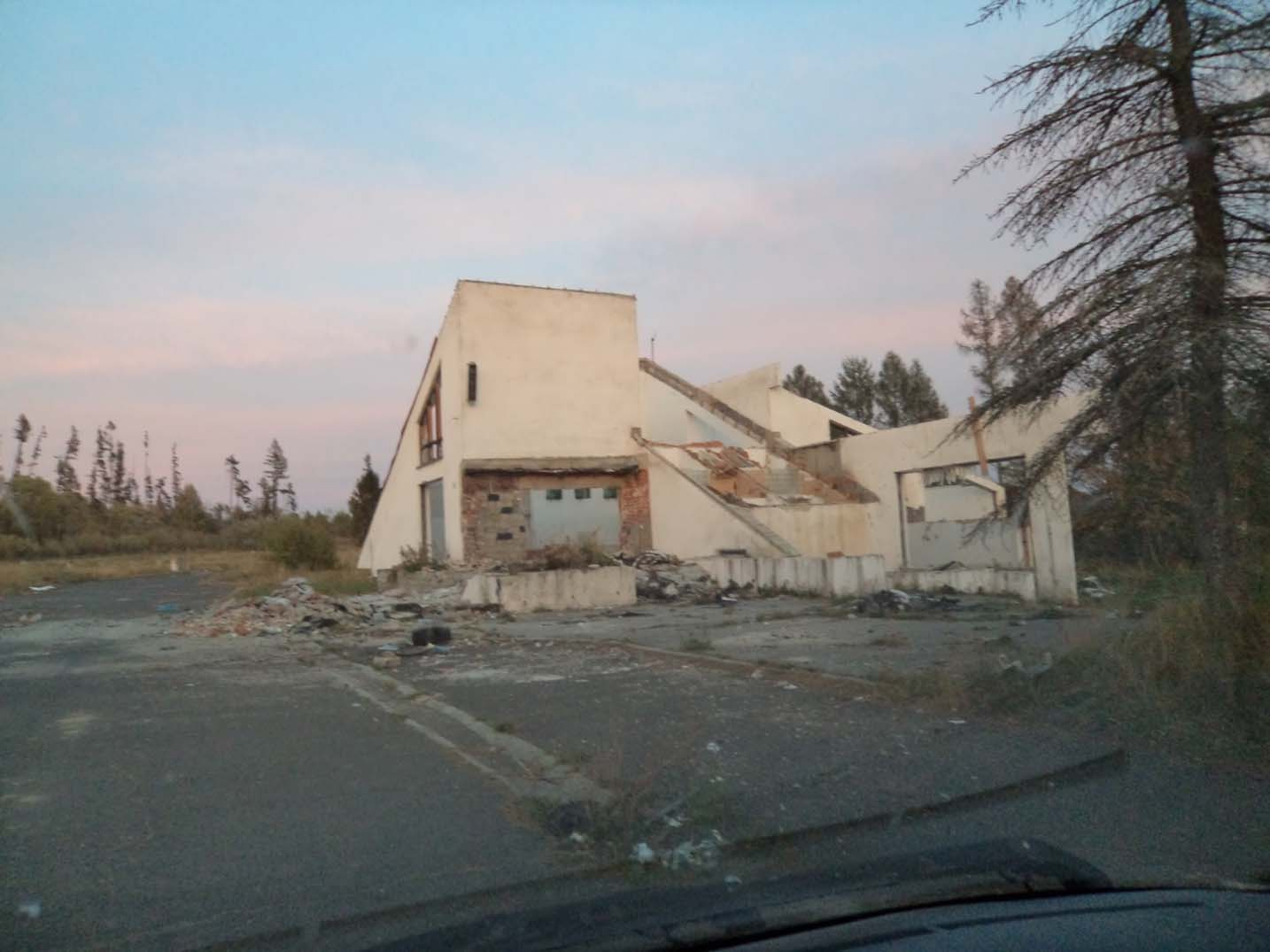 Bulldozed EuroCamp in Slovakia