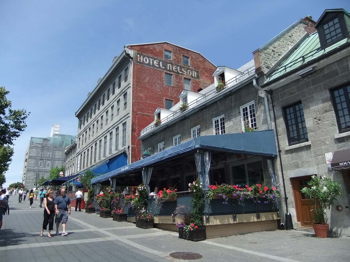 Old Montreal street