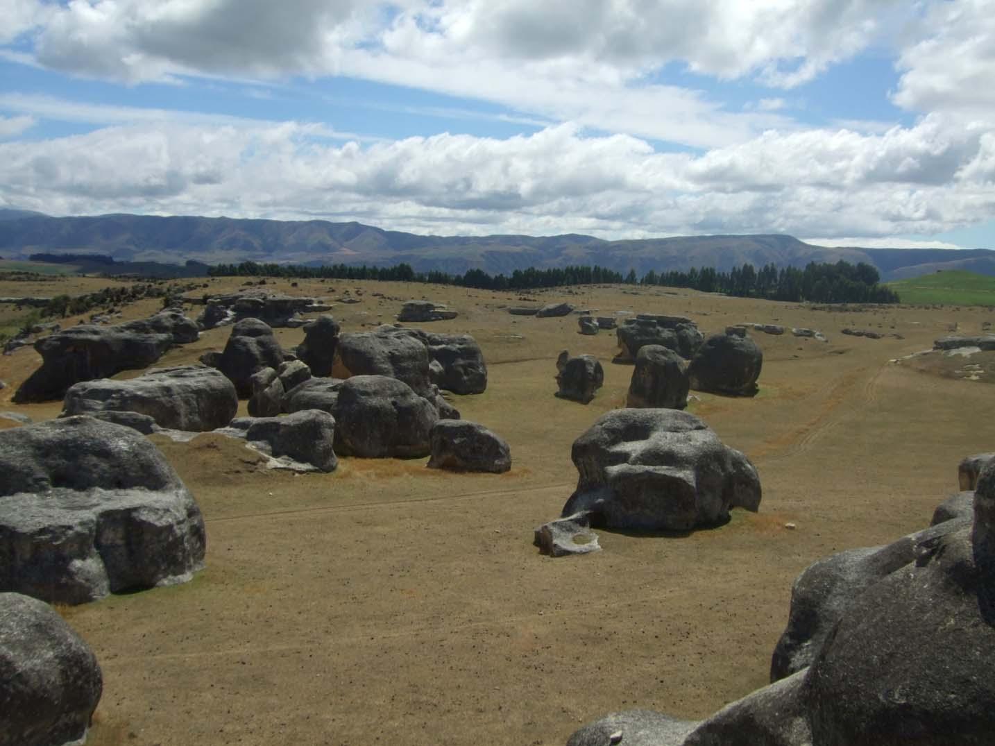 Elephant Rocks, Otago