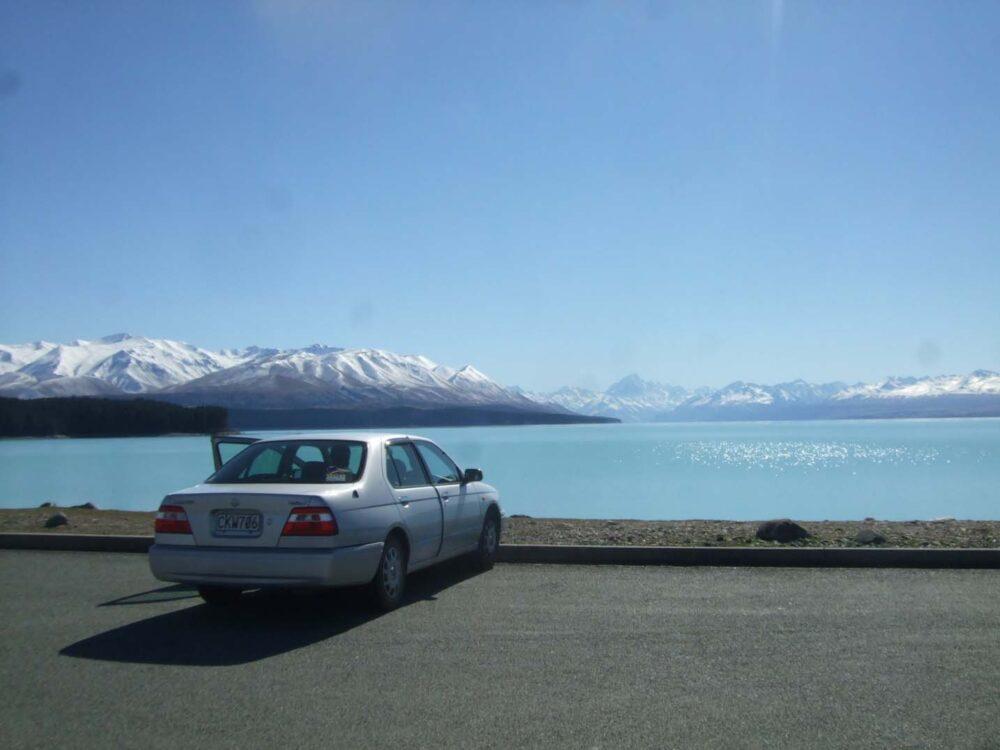 rental car lake tekapo new zealand