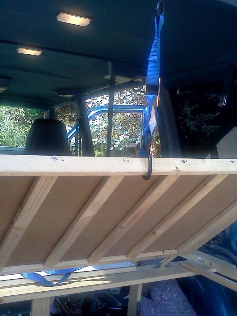 Homemade Astro Safari Van Camper Conversion Update 2