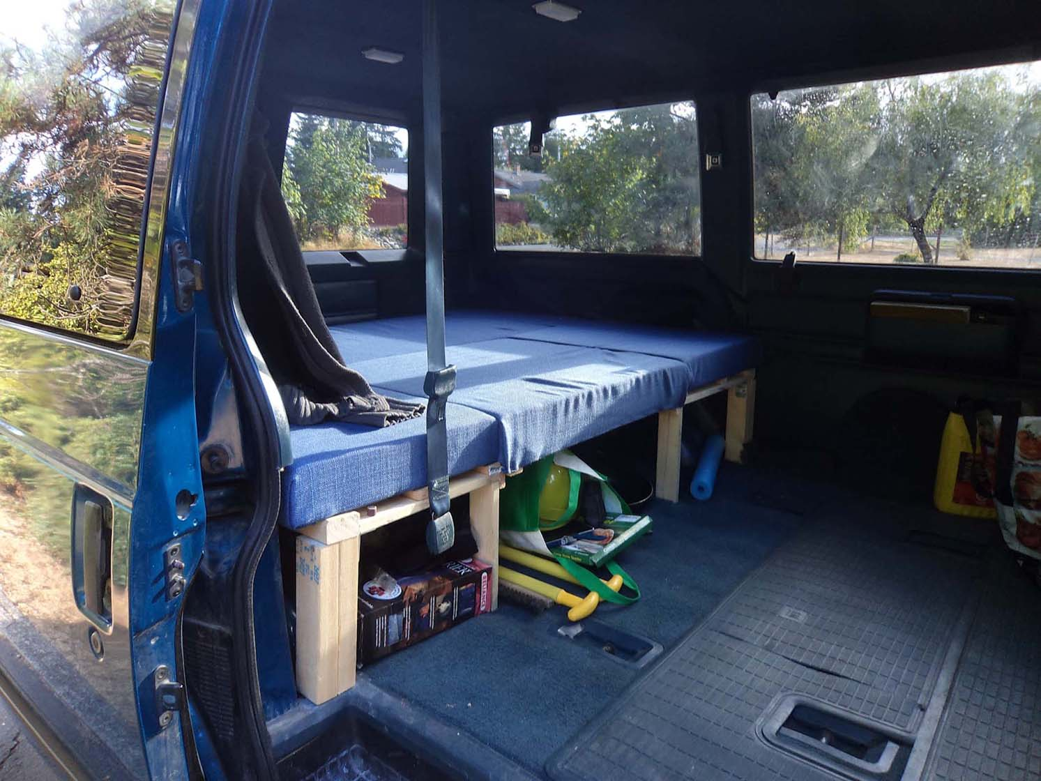 Chevrolet Astro Van Conversion: Construction Update September 2012
