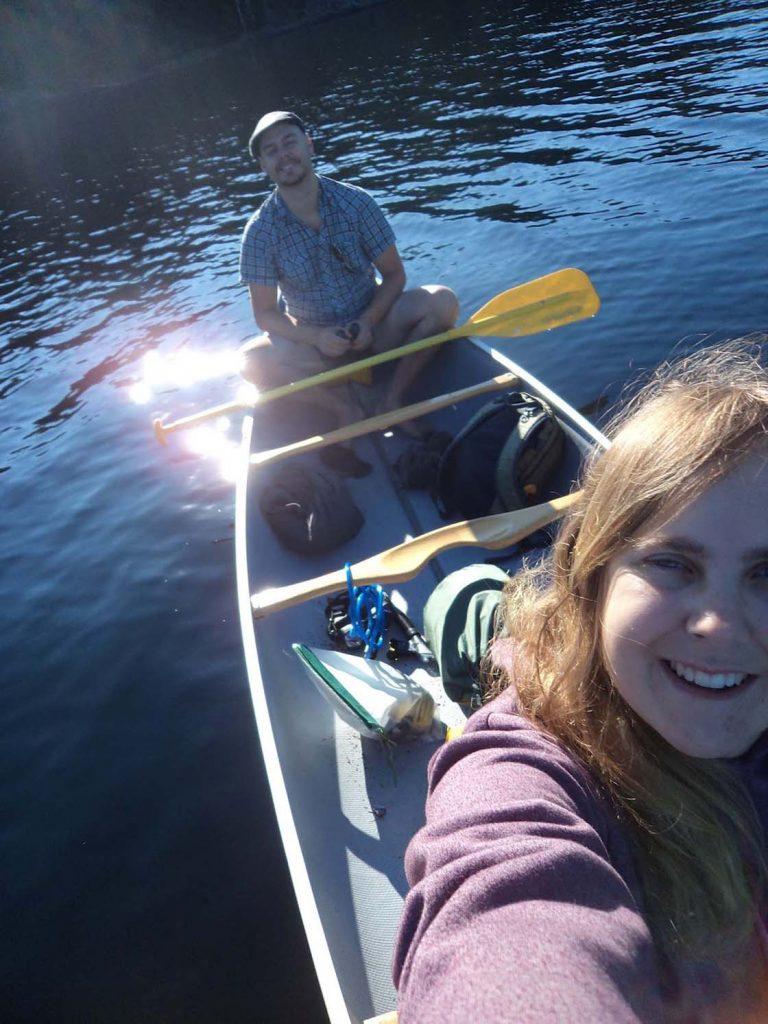 gemma jr main lakes canoe quadra island bc