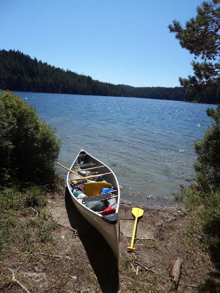 main lakes canoe route quadra island