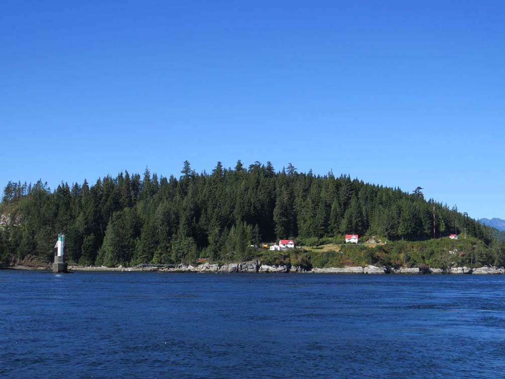 Coastal view near Campbell River, Vancouver Island