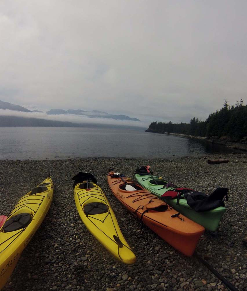 beach kayak wild coast