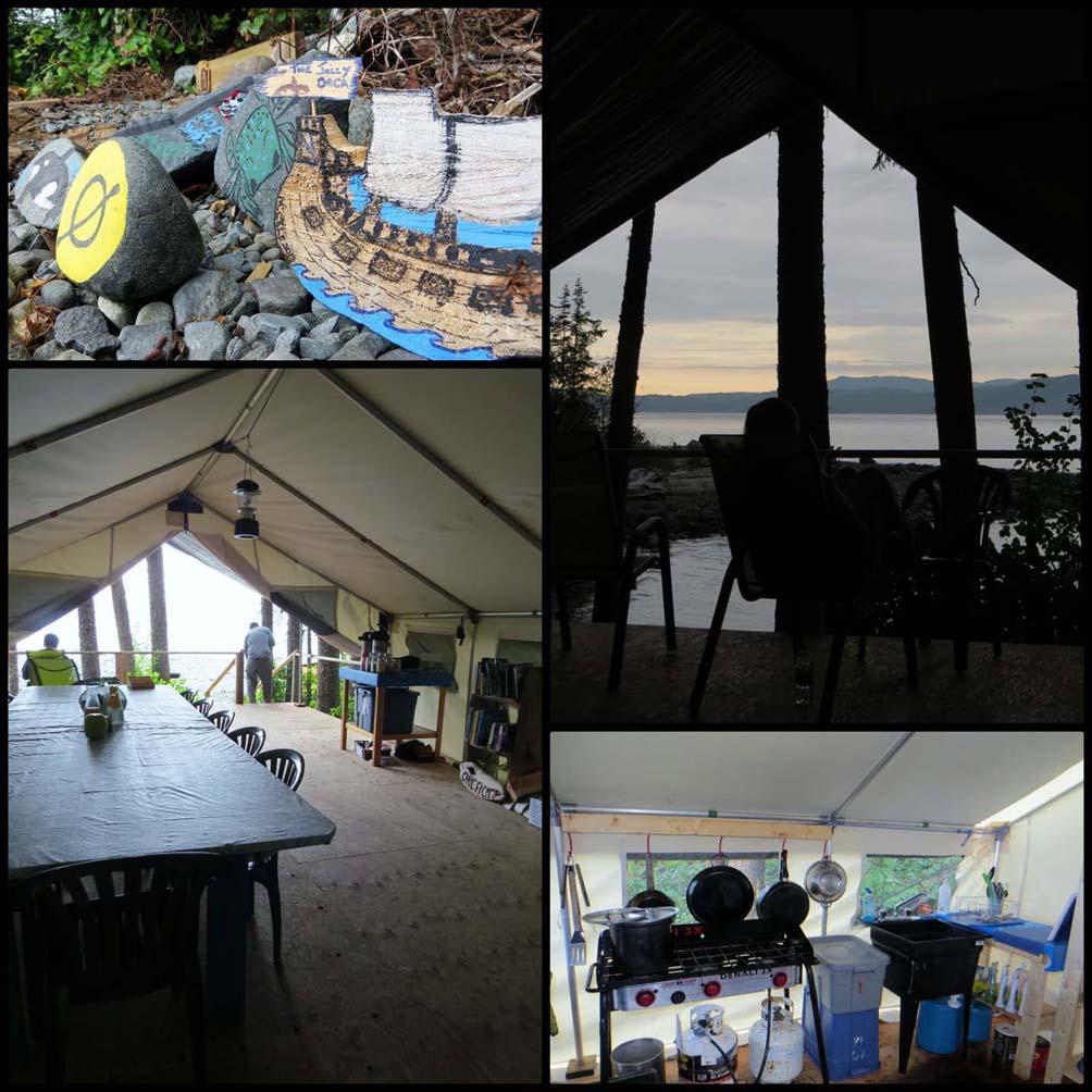 Scenes of Orca Camp