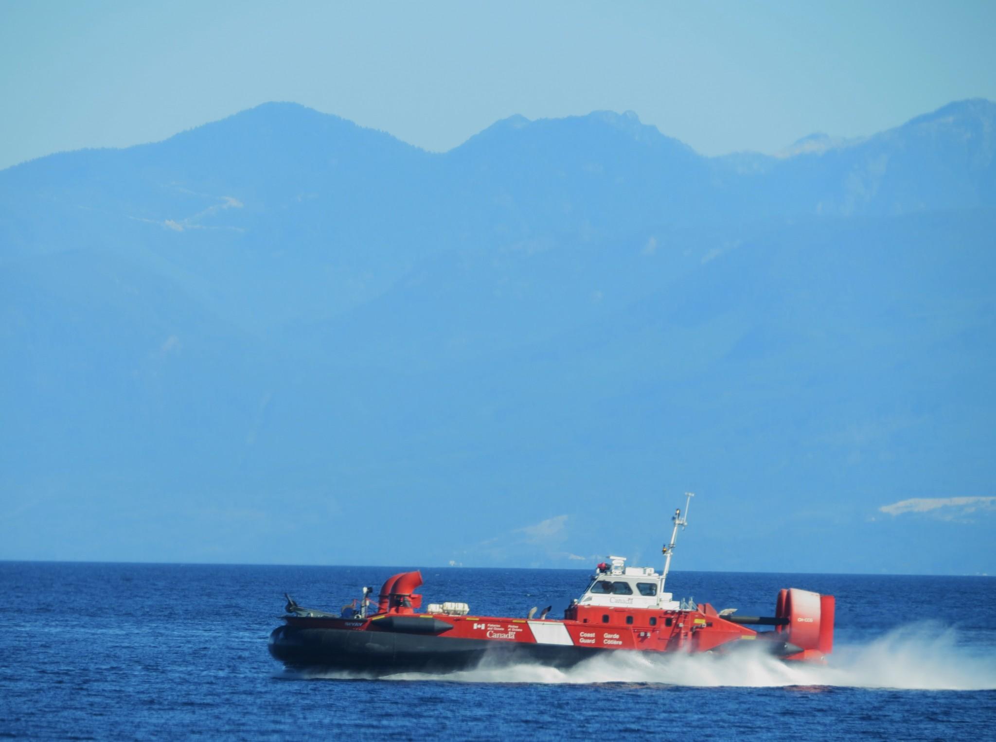 Coastguard from Gabriola Island