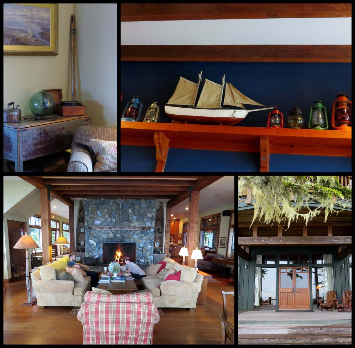 Perspectives of Middle Beach Lodge, Tofino