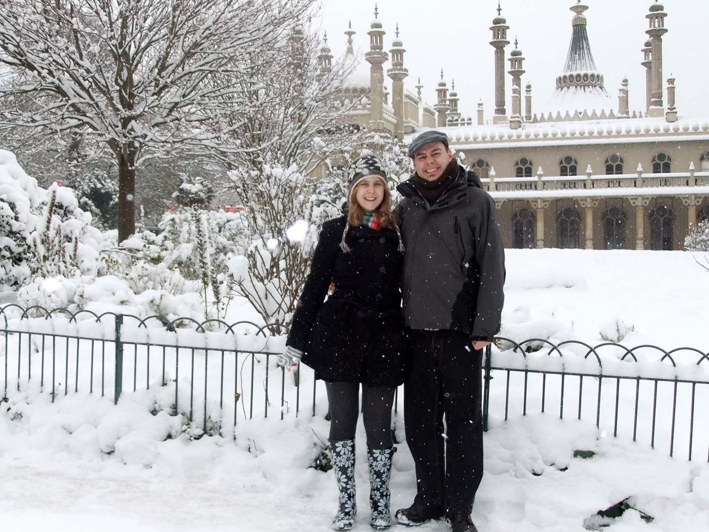 Brighton Pavilion winter