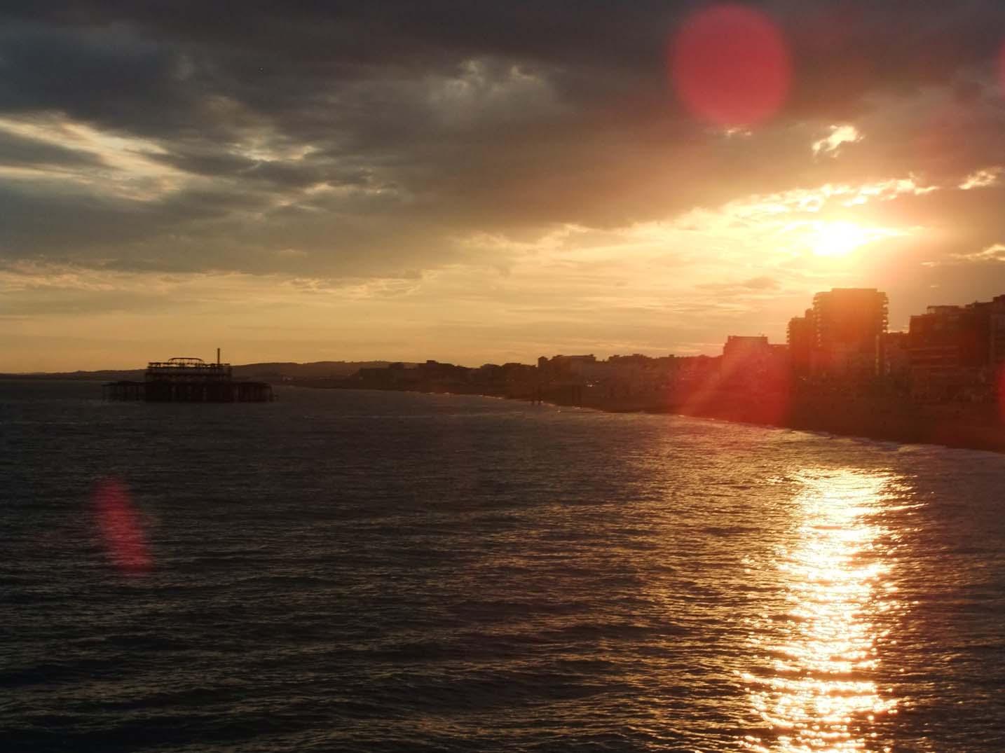 Brighton Pier evening