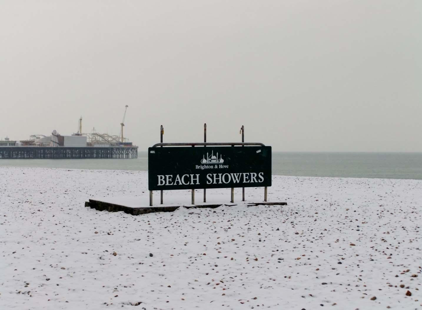 Brighton beach showers