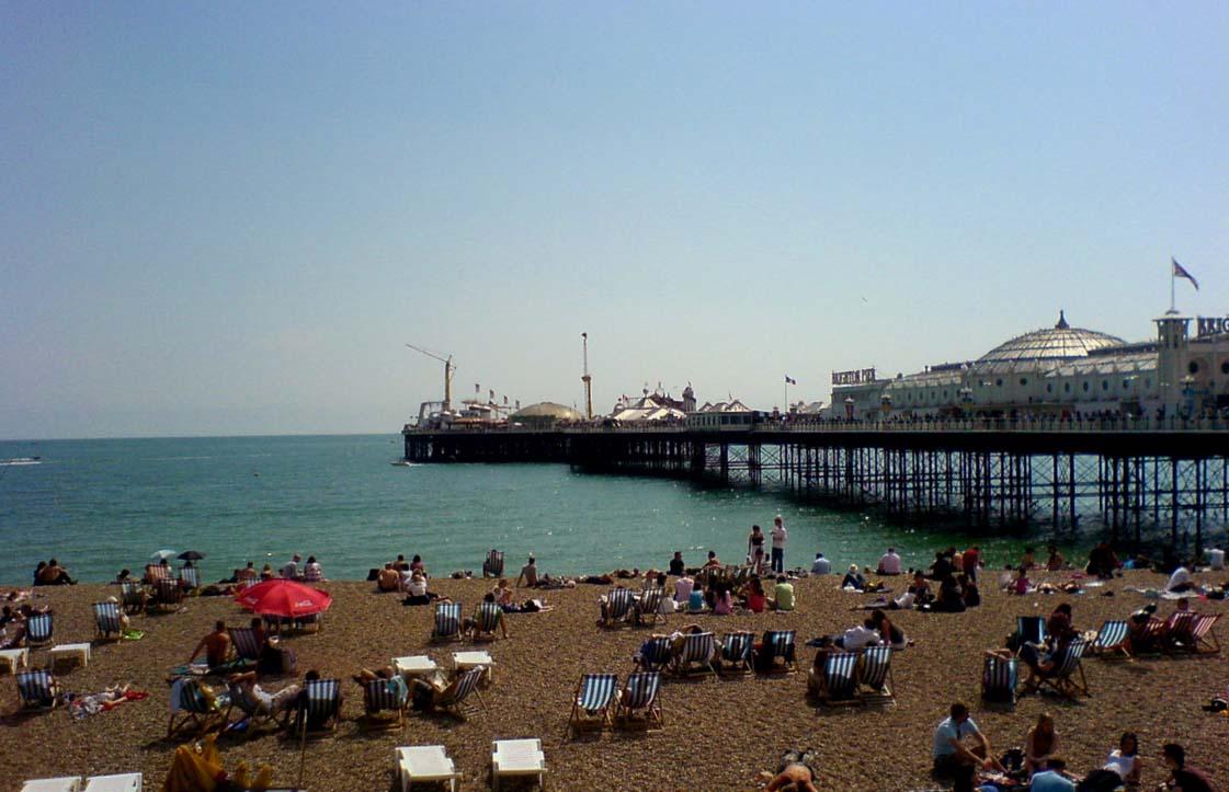 Brighton pier east sussex