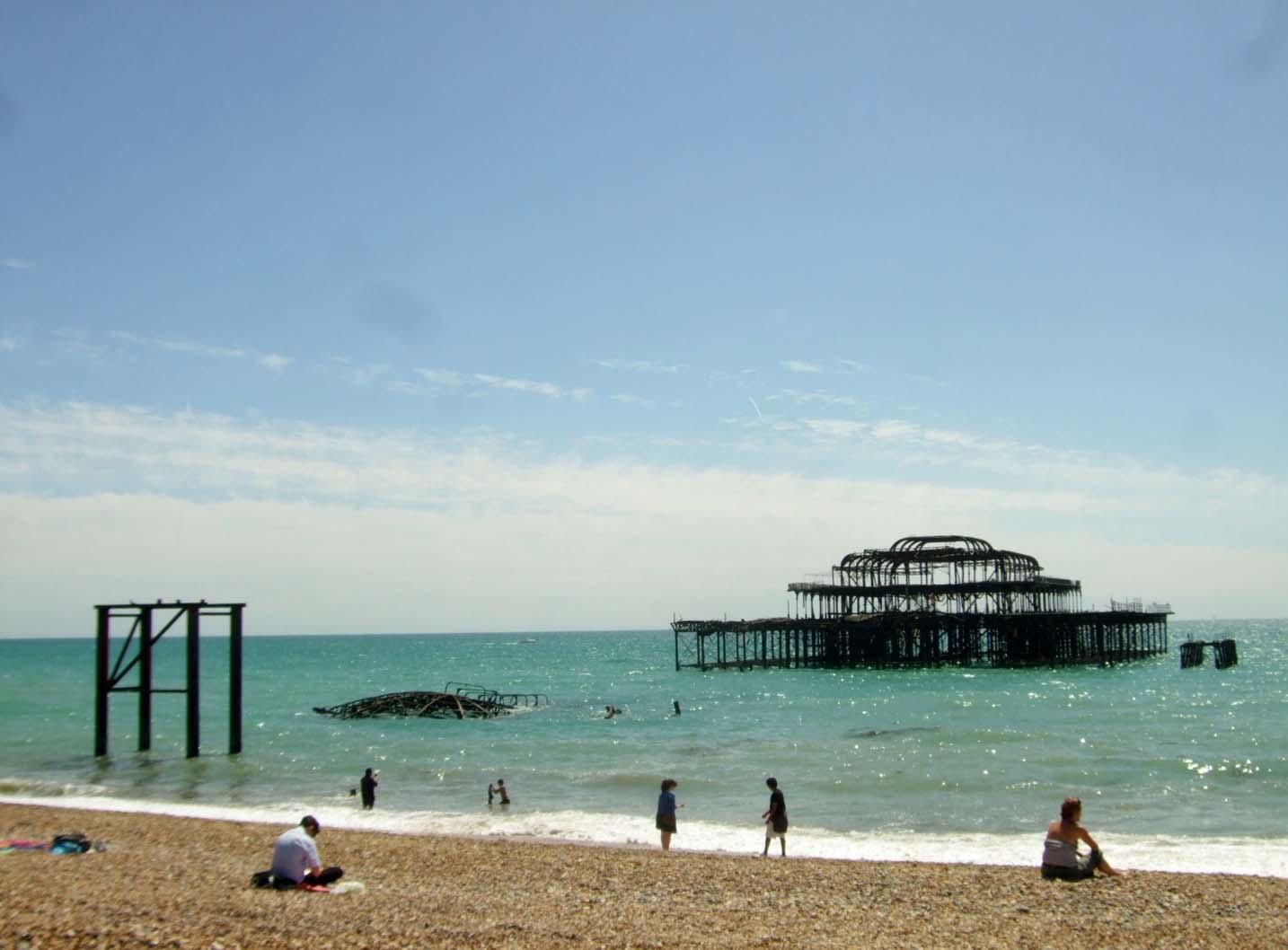 Brighton pier summer