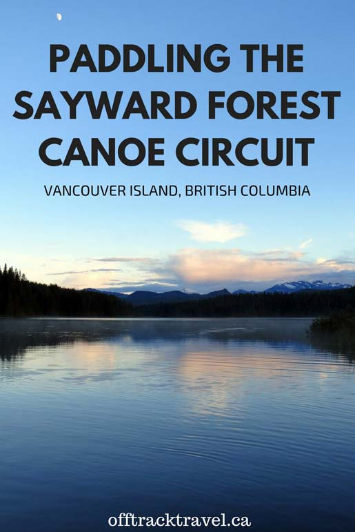 With beautiful views, well maintained facilities, a convenient location and just the right amount of challenge, the Sayward Canoe Circuit is a great choice for a paddling trip for novices and veterans alike. It's an unique Vancouver Island paddling experience to rival other canoe trip experiences in British Columbia - offtracktravel.ca