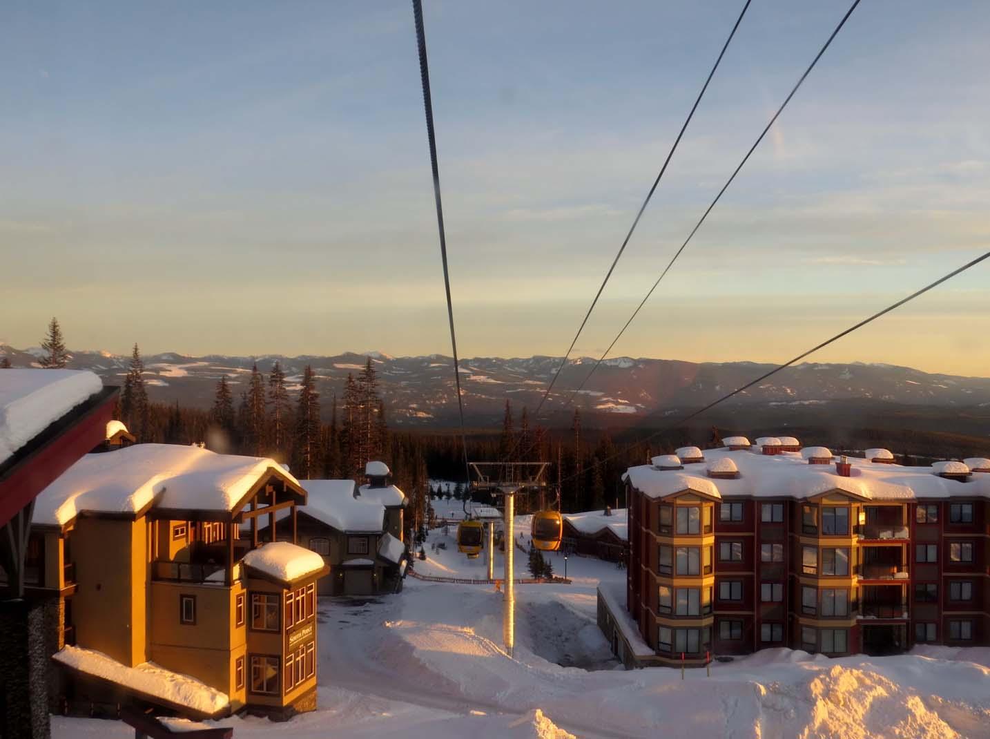 Big White BC gondola