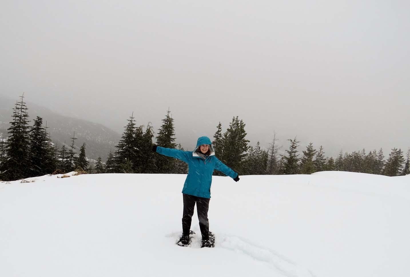 Snowshoeing Mount Washington 2014 (2)