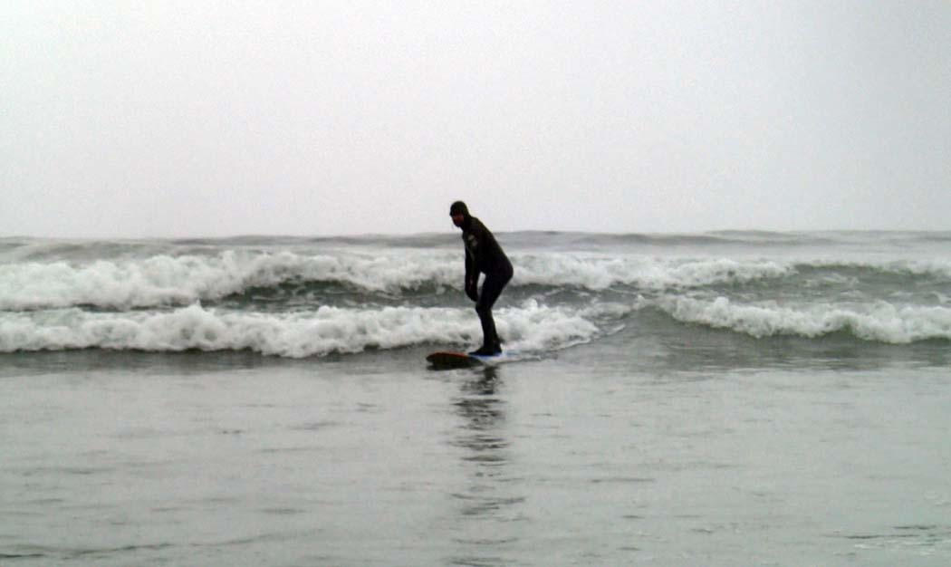 65 Things to do in Canada in winter - surfing in Tofino, BC