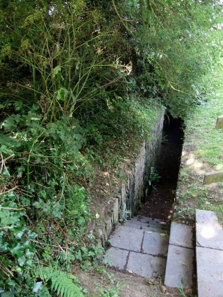 Halliggye Fogou entrance Cornwall