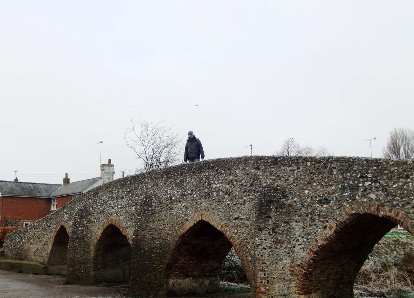 Moulton Packhorse Bridge Suffolk