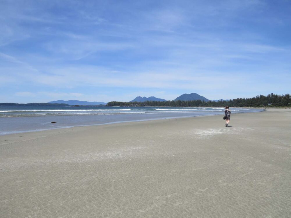 Chesterman beach Tofino