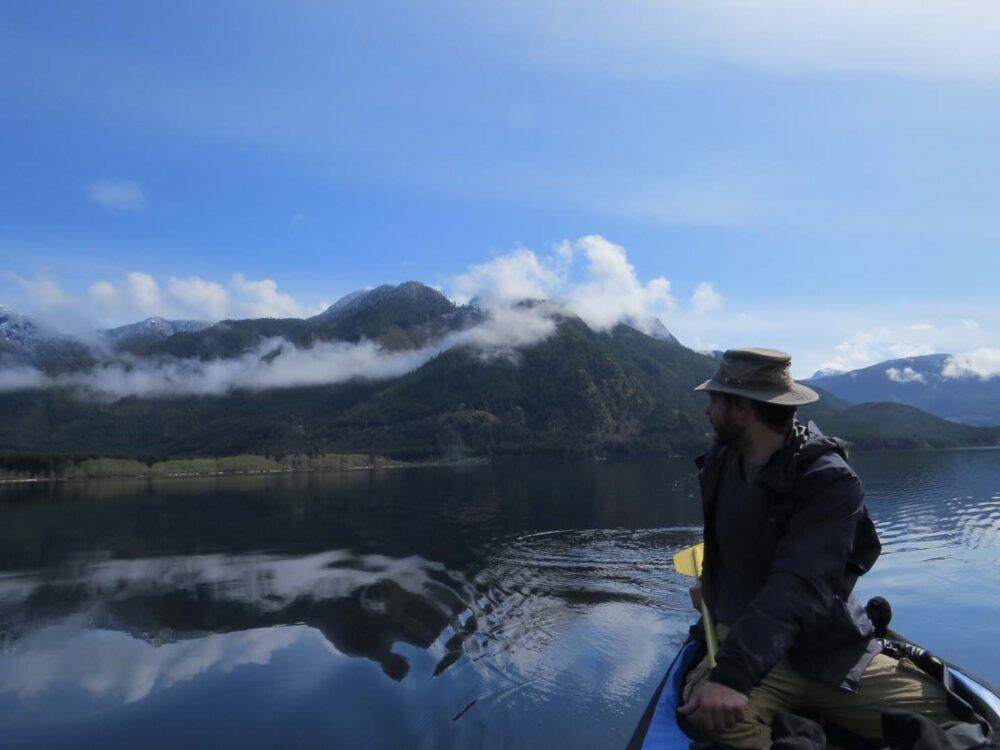 Muchalat Lake canoe