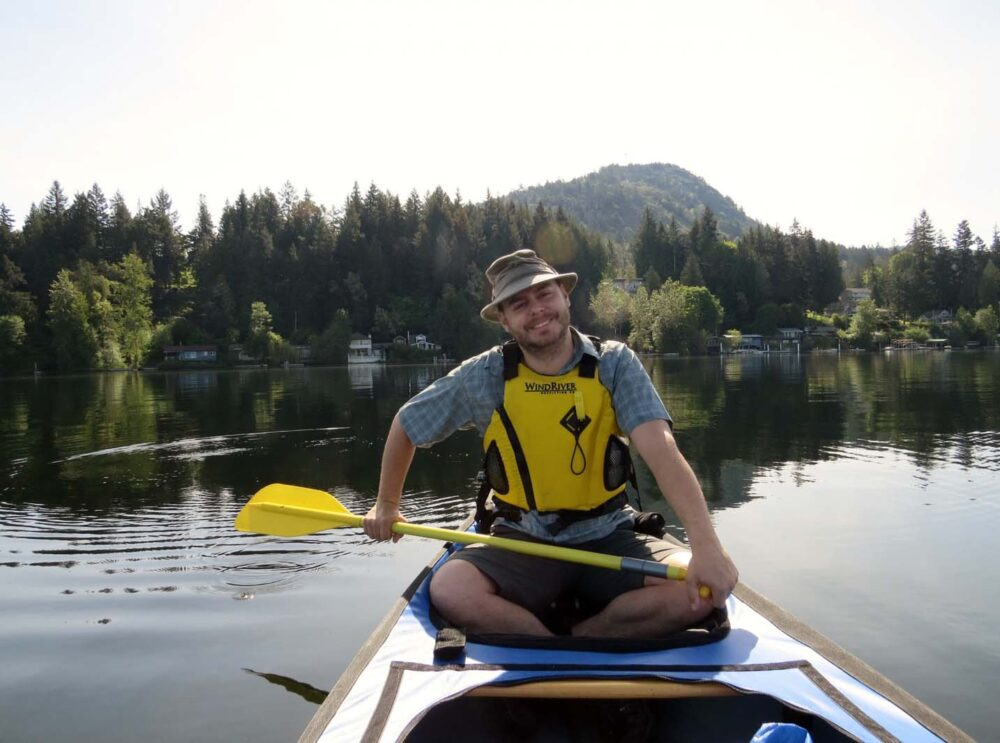 Shawnigan Lake canoeing