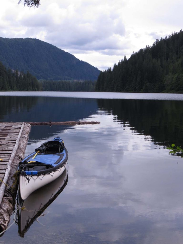 Bucket List ideas for your Working Holiday in Canada - Canoe with Windsor Lake Powell Forest Circuit