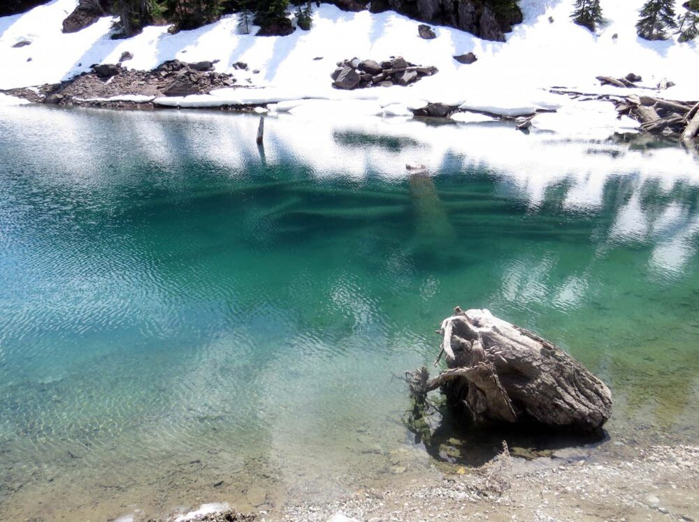 Colour of Garibaldi Lake
