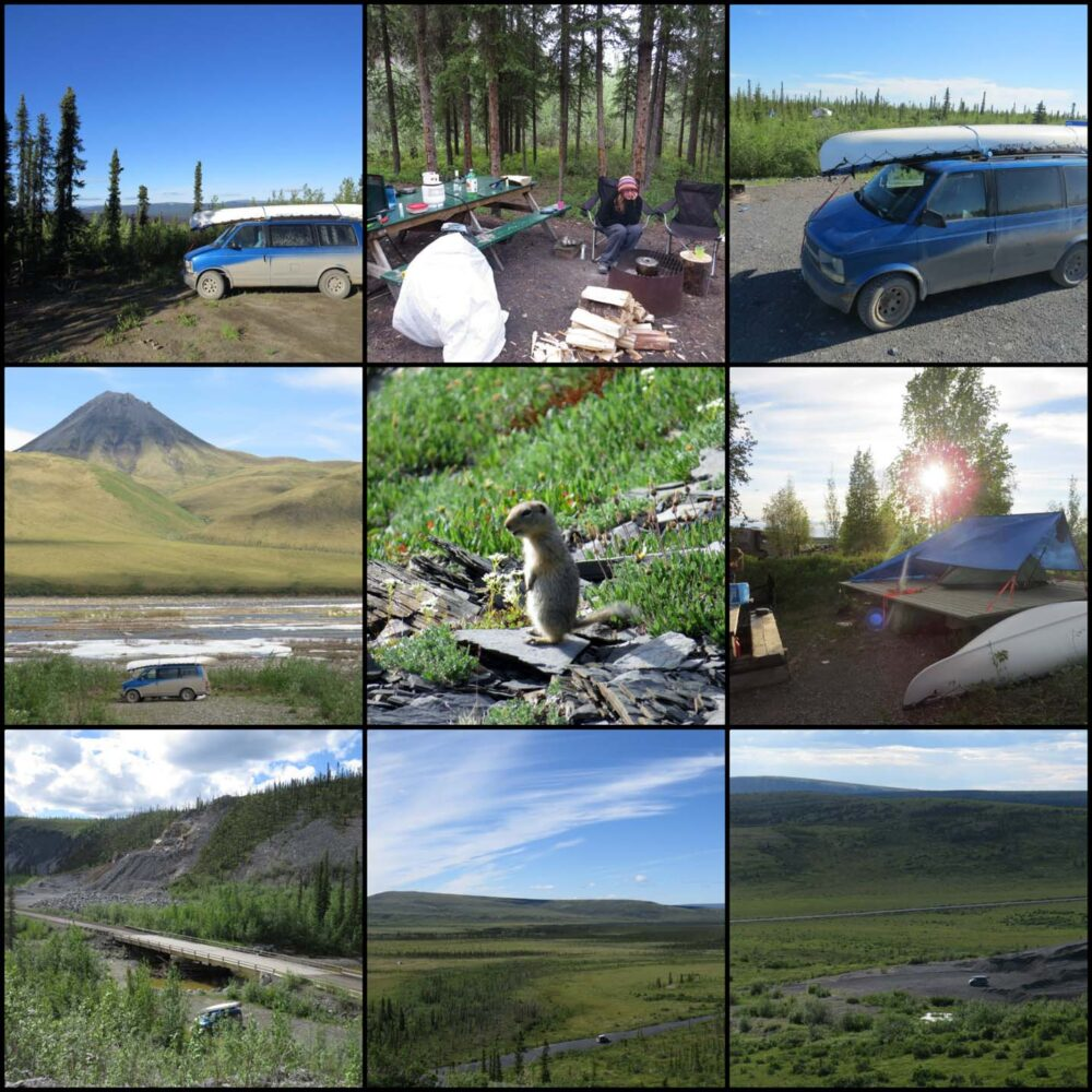 Dempster highway camping