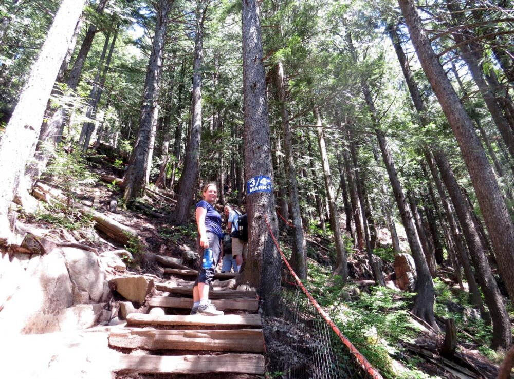 Hiking the Grouse Grind Vancouver