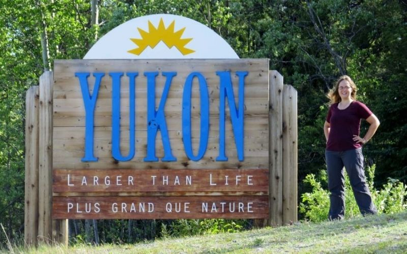Our Western Canada road trip: Driving to Yukon