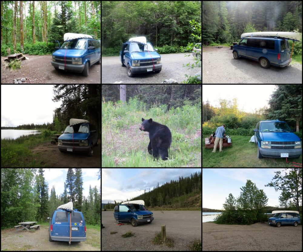 vancouver to dempster camping