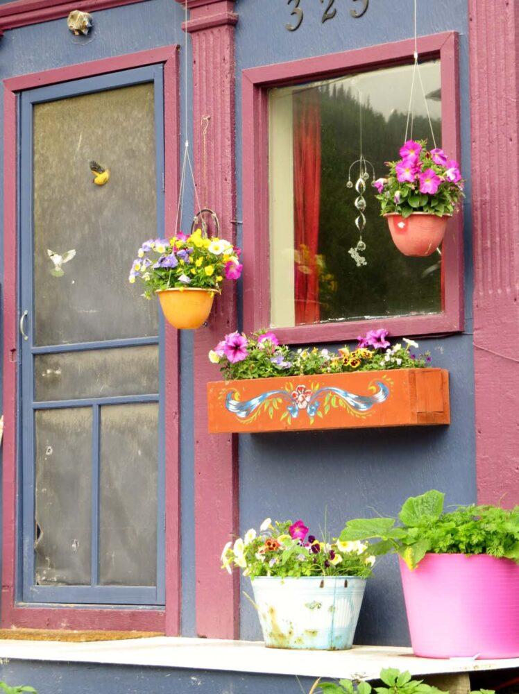 Dawson City house