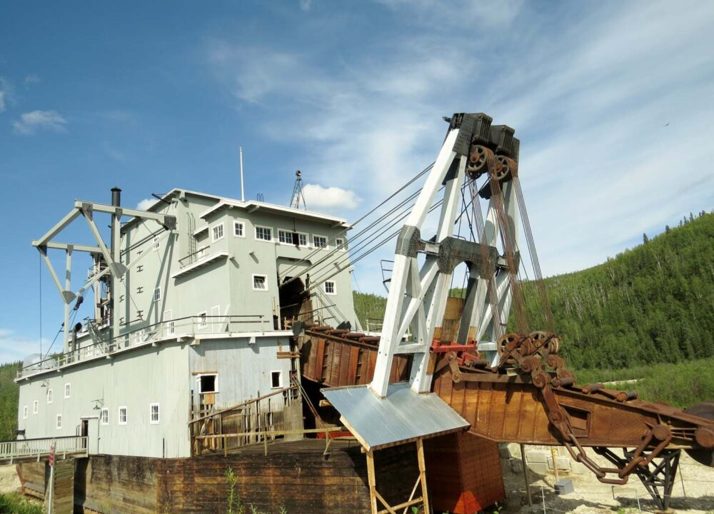 Things to do in Dawson City - Dredge no.4