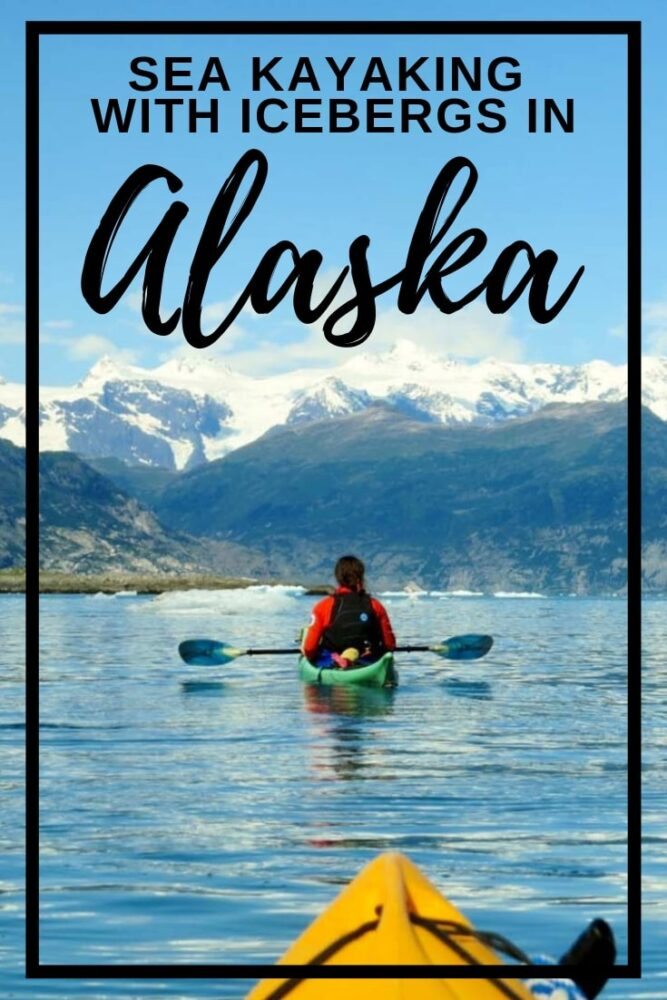 I drove 1800km (1100 miles) to go sea kayaking in Alaska for one day. It was a heck of a long way but it was absolutely worth it to float past icebergs. Discover how to go on what may be Alaska's best one day adventure yourself! offtracktravel.ca