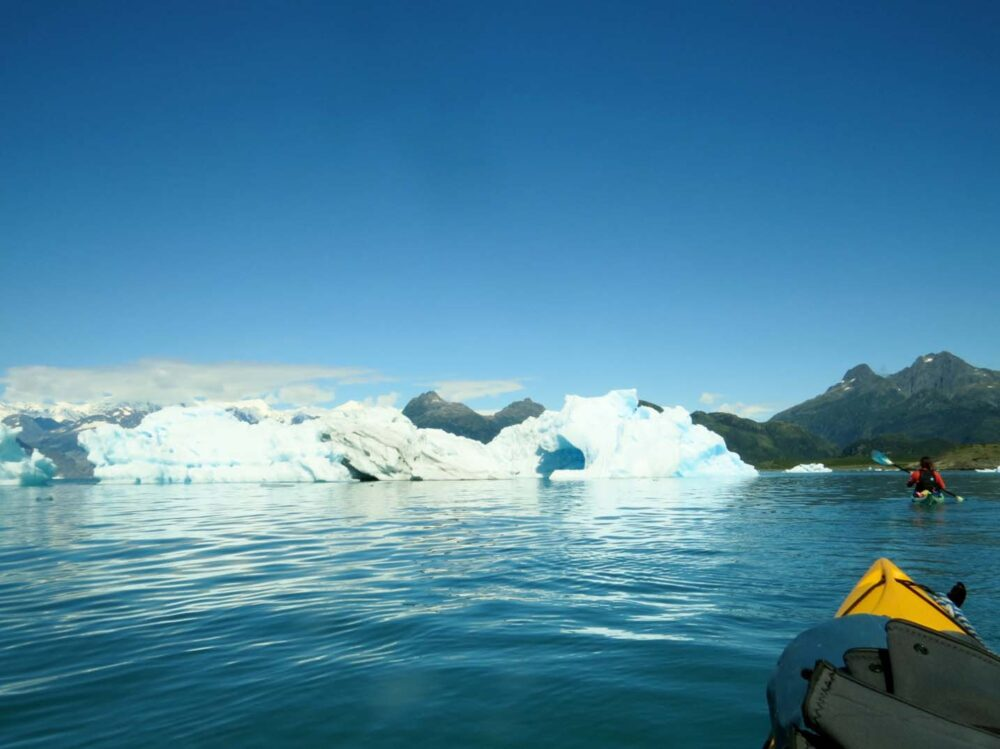 kayaking with icebergs arch pangaea adventures
