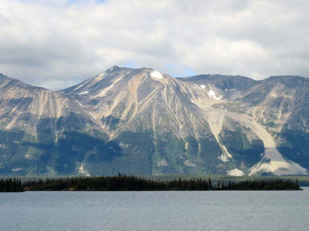 Atlin Lake mountains