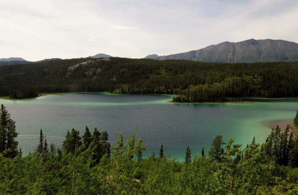 Emerald Lake near Carcross
