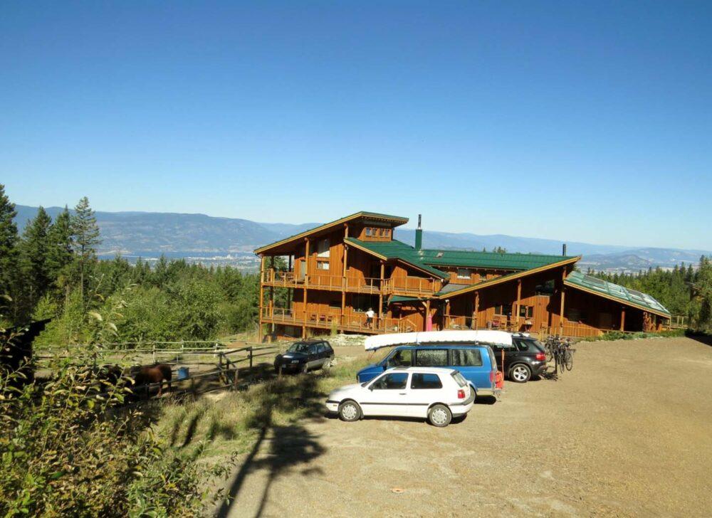Myra Canyon ranch with views of Kelowna