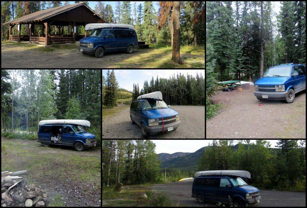 Camping Alaska Highway