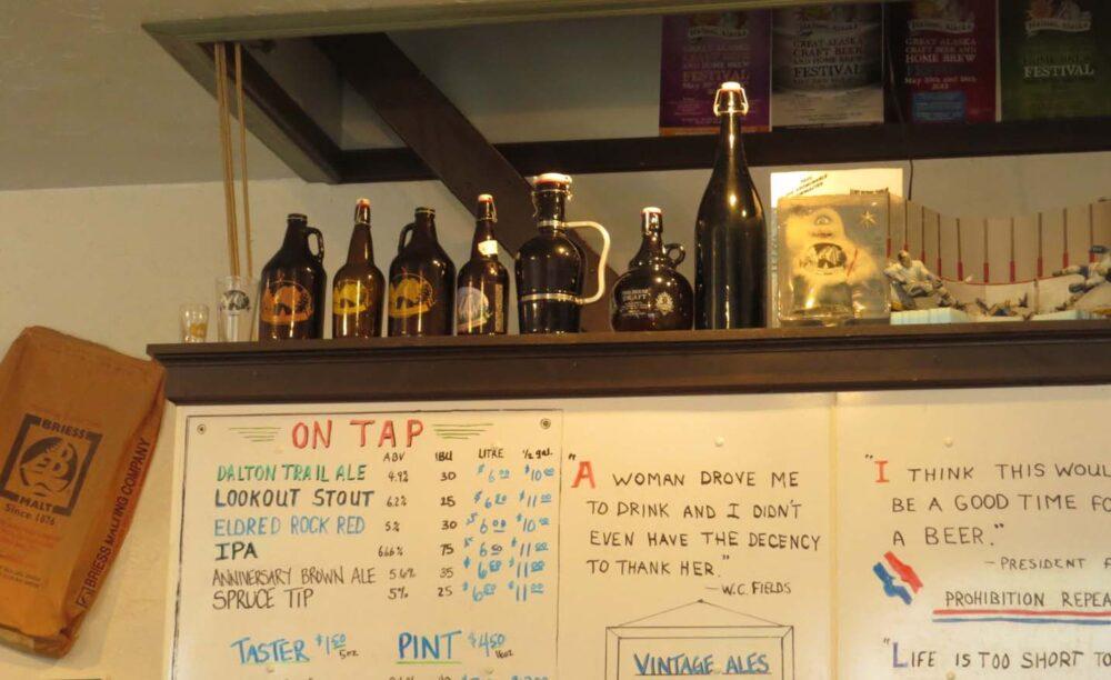 Haines Brewery Alaska