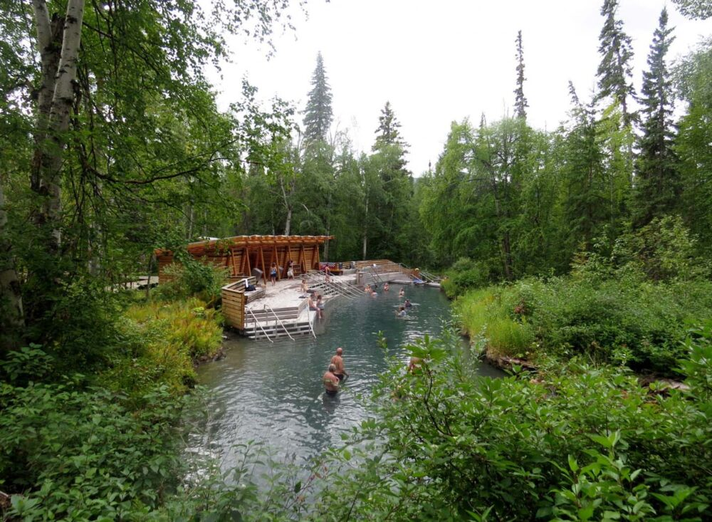 Liard Hot Spring in British Columbia