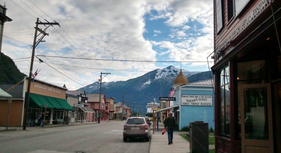 Skagway streets, Alaska
