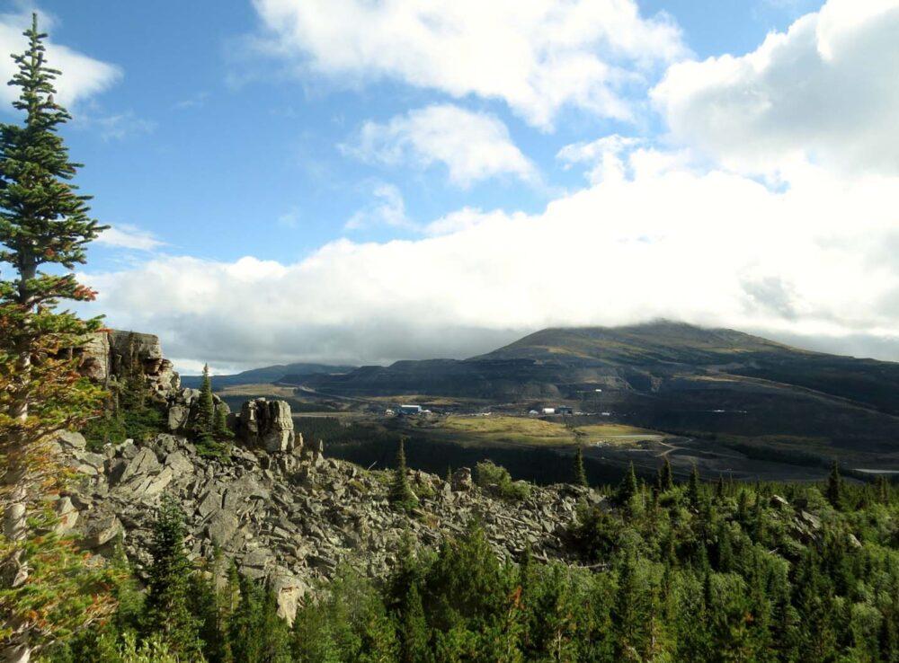 Boulder Gardens Tumbler Ridge mine