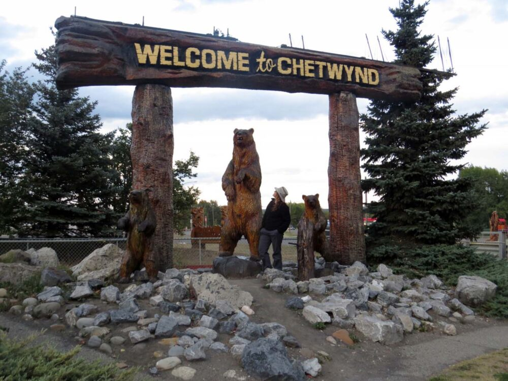 Chetwynd in British Columbia