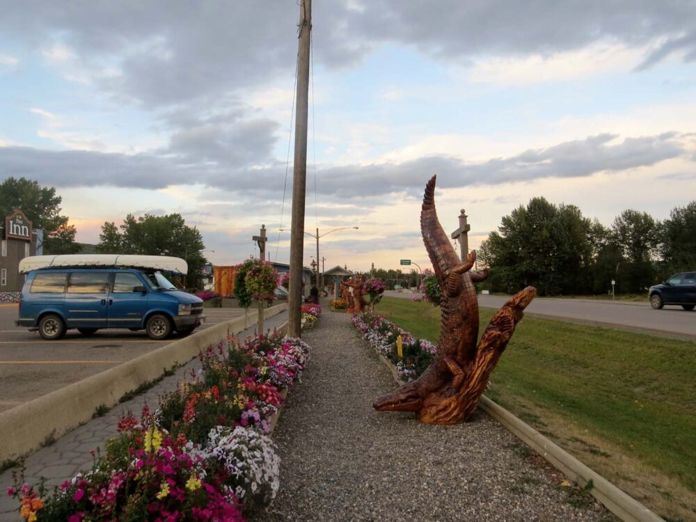 Chetwynd wooden sculptures