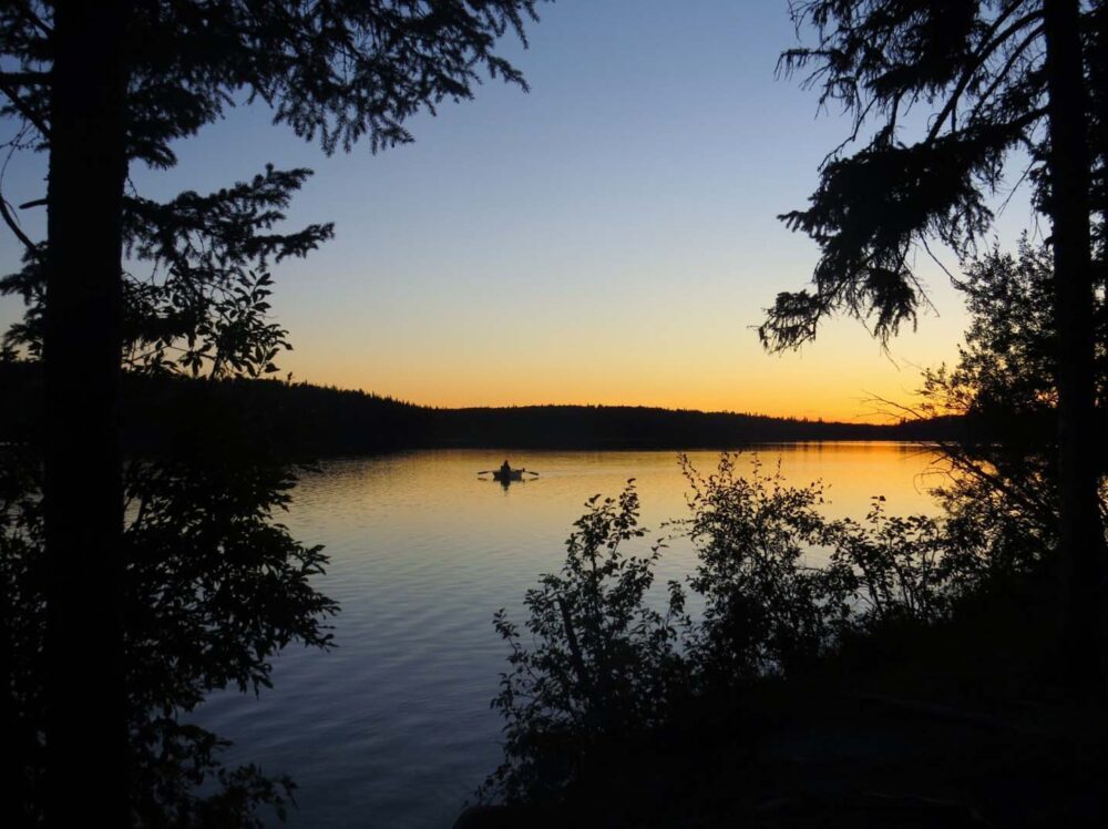 Crystal Lake Fishing Highway BC